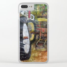 Tractors Clear iPhone Case
