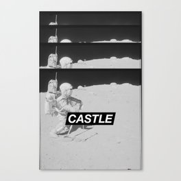 SURFACE // CASTLE Canvas Print