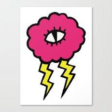 Lily Lightning Canvas Print