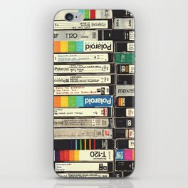 VHS Stack iPhone Skin