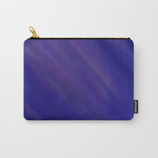 Finding Peace - Abstract, smooth, silky blue painting, peaceful, relaxing, modern art Carry-All Pouch
