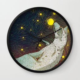 Star Eaters Wall Clock