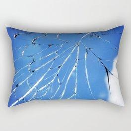 Shattered But Not Broken Rectangular Pillow