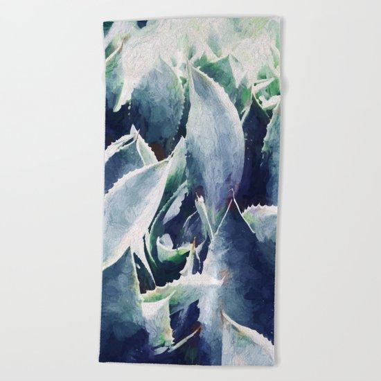 Cactus Garden #society6 #deco3 buyart Beach Towel