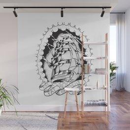 Fat Ship Wall Mural