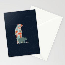 Geo Bear Stationery Cards