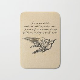 Jane Eyre - No bird - Bronte Bath Mat