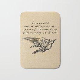 Jane Eyre - No bird - Bronte Bath Mat