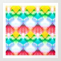 Crystal Rainbow Art Print
