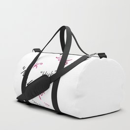 Annoying Words Duffle Bag
