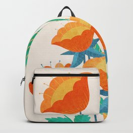 Summer Flowers I Backpack
