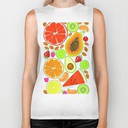 Fruits Biker Tank