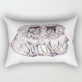 Baboons Rectangular Pillow