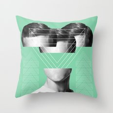 MAN #2 Throw Pillow