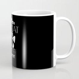 Grindcore Funny Cat TShirt Coffee Mug