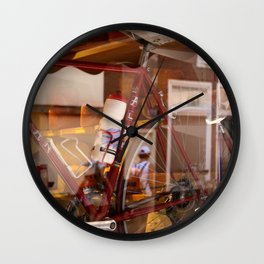 Holland - in a store window Wall Clock