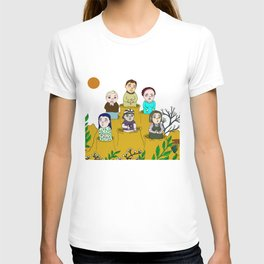 Human gophers T-shirt