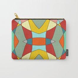 Retro Colored Mandala Carry-All Pouch