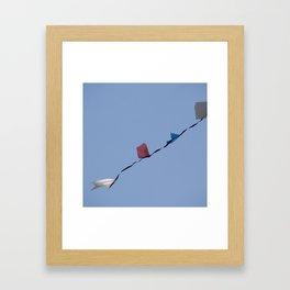 Bandeirolas Framed Art Print