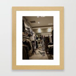 Ugg Framed Art Print