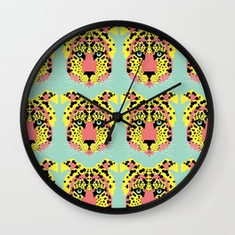 Modular Cheetah Wall Clock
