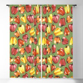 Bell Peppers Pattern Blackout Curtain
