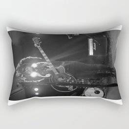 Birds in the Boneyard, Print 14: Mikey Leads the Crowd Rectangular Pillow
