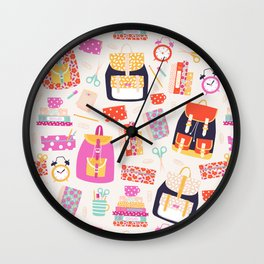 Back to school Wall Clock