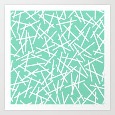 Kerplunk Mint Art Print