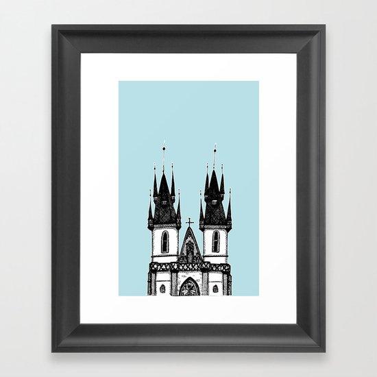 Tyn Church - Prague Framed Art Print
