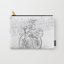 Women racers in 1868! Carry-All Pouch