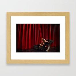 Peeking Out I Framed Art Print