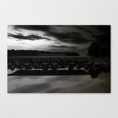 Lake lanier marina. Canvas Print