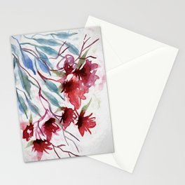 Weeping Red Stationery Cards