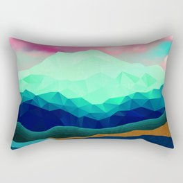 Just Go High Rectangular Pillow