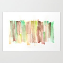 [161228] 22. Abstract Watercolour Color Study |Watercolor Brush Stroke Art Print