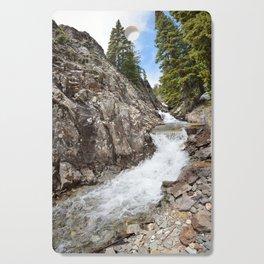 Waterfall on Mineral Creek in Porphyry Basin Cutting Board