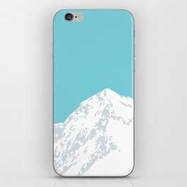 Snow Capped Mountain iPhone Skin