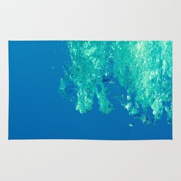 Waves under the water Rug