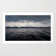 'Lake Ominous' Art Print