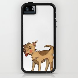 Lucky the Mixed Breed iPhone Case