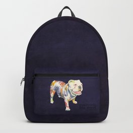 English Bulldog Backpack