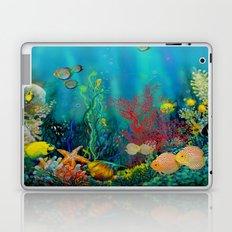 Undersea Art With Coral Laptop & iPad Skin