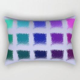 Cold squares Rectangular Pillow
