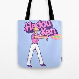 Hadou Ken Tote Bag