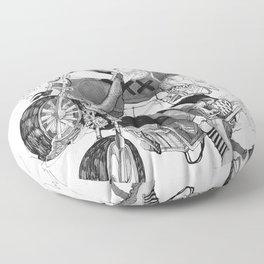 Rank XX Floor Pillow