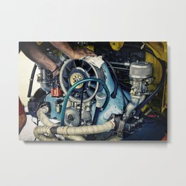 THE MECHANIC Metal Print