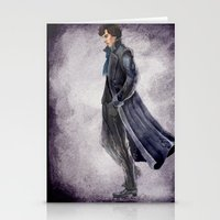 battlefield Stationery Cards featuring Sherlock: The Battlefield by Doodleholic