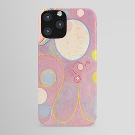 "Hilma af Klint ""The Ten Largest, No. 08, Adulthood, Group IV"" iPhone Case"