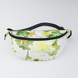 Watercolor Ivy Fanny Pack